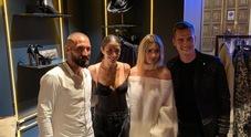 Jessica e Claudia presentano il loro brand con Milik e Tonelli