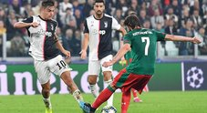 Juve-Lokomotiv 2-1 Super Dybala: in tre minuti ribalta il risultato