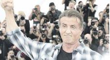 Sylvester Stallone si prende il Festival di Cannes: «Io, Rambo e Rocky ma il ring è la vita»