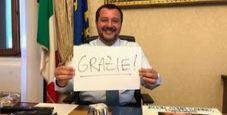 Immagine Diciotti, Senato nega l'autorizzazione su Salvini