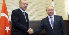 Immagine Siria, patto Putin-Erdogan: pattuglie congiunte