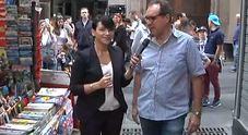 Il Napoli lancia la sfida alla Juve: Anna Trieste alla pizzeria Brandi
