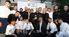 Chef e protagonisti in festa per il winter party di #3D