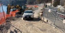 Immagine Portofino, riaperta la strada distrutta dalla mareggiata