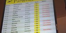 Immagine Oggi sciopero aereo,  cancellati 95 voli Alitalia
