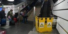 Immagine Incubo scale mobili metro: 800 guasti al mese a Roma