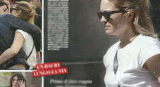 Carolina Crescentini incinta? Pancino sospetto mentre passeggia col fidanzato Francesco Motta
