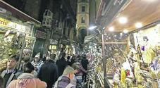 Napoli, la sfida della grande fiera dei presepi: «Un milione di visitatori»