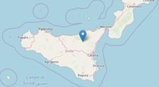 Terremoto in Sicilia: lieve scossa in provincia di Messina, l'epicentro nell'entroterra