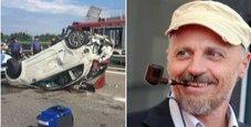 Immagine Paolini dopo l'incidente: «Colpa mia, ero distratto»