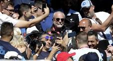 Napoli, De Laurentiis guarda al futuro: «4 idee per stadio e centro sportivo»