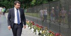 Immagine Salvini torna dagli Usa: «Ho il nome del ministro»