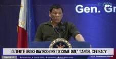 Immagine Il presidente delle Filippine: «Vescovi gay e figli di p...»