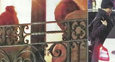 Simona Ventura innamorata, cena a casa del fidanzato Giovanni Terzi e fuga nella notte col taxi