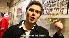 L'Erasmus speciale di Alexei: «Ciao Napoli, batti la Juventus!»
