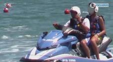 Salvini, il figlio su moto d'acqua della polizia: indagati tre agenti