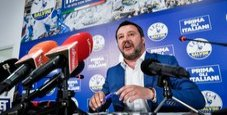 Immagine Basilicata al centrodestra, Salvini: ora si cambia l'Ue