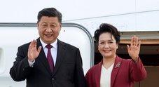 Xi Jinping, Roma si blinda. E per la first lady un tour dei musei