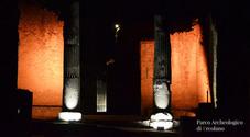 Canti e balli latini per le visite serali negli scavi di Ercolano