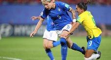 Live Italia-Brasile 0-1: Marta segna su rigore