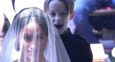 Royal Wedding, svelato il segreto del paggetto di Meghan Markle: ecco il perché della sua buffa espressione