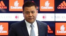 Milan, ritirato il passaporto all'ex patron Li Yonghong