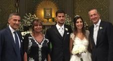 Il bomber Femiano si sposa: festa grande in casa Cesport