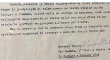 Massimo Troisi chiedeva al sindaco un teatro stabile: spunta la lettera autografa di 45 anni fa