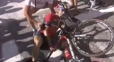 Tour de France, Nibali in ospedale: si teme la frattura di una vertebra