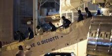 Immagine Diciotti, trafficanti migranti tagliano dito a un bimbo