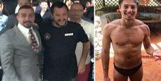 Immagine Salvini  per riapertura dopo aggressione Bettarini