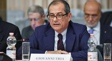 Manovra, Tria: «Ridurrei il deficit per evitare la procedura d'infrazione della Ue»