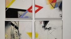 «Tempo sospeso», le opere di Longobardo in mostra da Am Studio Gallery
