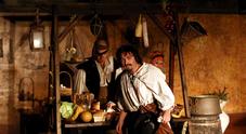 Al Maschio Angioino rivive Caravaggio nell'ultima notte a Napoli