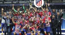 La Supercoppa è dell'Atletico: il Real Madrid si arrende senza CR7