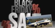Immagine Black friday Ryanair: