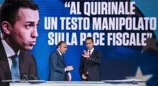 Condono, Di Maio: «Al Quirinale testo manipolato, denuncio alla Procura» Il Colle: «Documento mai arrivato». Palazzo Chigi: bloccato da Conte
