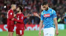 Napoli, il sogno sfuma ad Anfield: 1-0 Liverpool, Champions addio