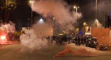 Scontri prima di Nocerina-Foggia: cariche della polizia e ultrà feriti