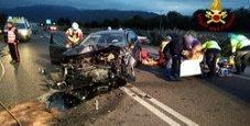 Immagine Scontro frontale tra auto: morti marito e moglie