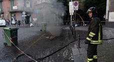 Napoli, blackout e panico a Chiaia: in fiamme cavi elettrici nel sottosuolo
