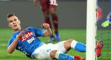 Napoli, è tornato il mal di gol: col Toro di Mazzarri è solo 0-0