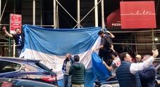Juve Napoli, delirio azzurro a New York