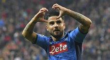 Napoli, con Mertens e Insigne vittoria da sballo: 3-2 a Salisburgo