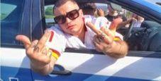 Immagine Trapper nell'auto polizia:  rischia una denuncia