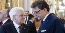 Immagine Ue, Giorgetti sale al Colle e rinuncia alla candidatura