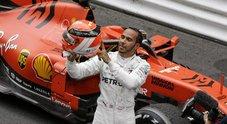 Anche a Montecarlo vince Hamilton, Vettel secondo per una penalità