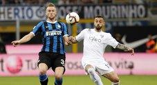 S'infiamma la lotta Champions: gol di Zapata, adesso è fuori l'Inter