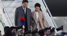 Xi Jinping a Roma, il presidente cinese è atterrato a Fiumicino