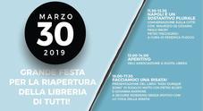 Napoli, sabato 30 marzo riapre la libreria IoCiSto al Vomero